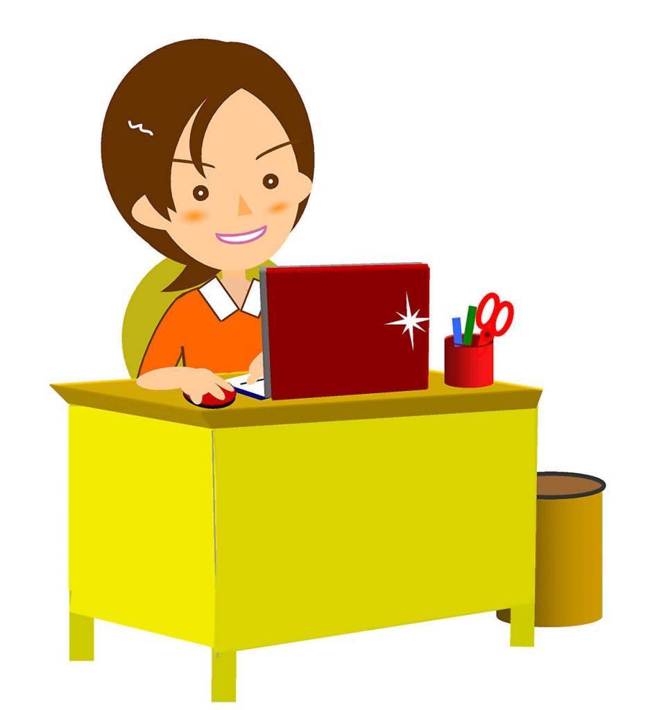売れない営業マンは仕事時間で安心する